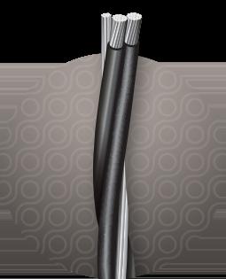 Cerrowire Aluminum Triplex Service Drop